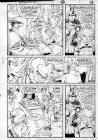 GIBSON, IAN finishes - DC Millennium #2 page 18 Comic Art