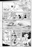 GIBSON, IAN finishes - DC Millennium #2 page 4 Comic Art