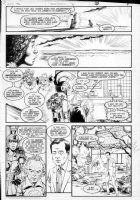GIBSON, IAN finishes - DC Millennium #2 page 5 Comic Art