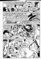 GIBSON, IAN finishes - DC Millennium #3 page 2 Comic Art