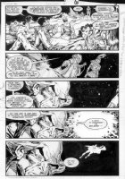 GIBSON, IAN finishes - DC Millennium #3 page 3 Comic Art