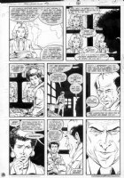 GIBSON, IAN finishes - DC Millennium #3 page 4 Comic Art