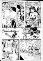 GIBSON, IAN finishes - DC Millennium #4 page 15 Comic Art