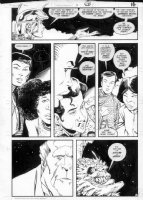 GIBSON, IAN finishes - DC Millennium #5 page 10 Comic Art