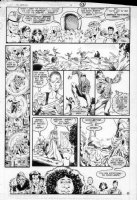 GIBSON, IAN finishes - DC Millennium #7 page 9 Comic Art