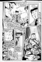 GIBSON, IAN finishes - DC Millennium #8 page 20 Comic Art