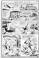 OkSNER, BOB - Jerry Lewis #109 page 2 - Horror story Comic Art