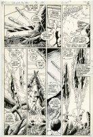 PEREZ, GEORGE - (Tales of New) Teen Titans #46 pg 5, Aqualad & Aquagirl, 1984 Comic Art