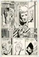 PEREZ, GEORGE - (Tales of New) Teen Titans #48 pg 23, Raven & Jericho, 1984 Comic Art