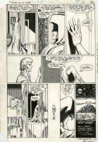 PEREZ, GEORGE - (Tales of New) Teen Titans #48 last pg, Raven & Jericho, 1984 Comic Art