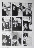 CAMPBELL, EDDIE - From Hell #6 chapter 9 pg, Prince Eddy & Jack victim Marie Kelly Comic Art