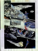 ROSS, ALEX - Miracle Man Apoc (Marvel Man) #1 mini-series fully painted page Comic Art