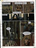 STAPLES, GREG - 2000AD #950 Slaine painted pg 24 Comic Art