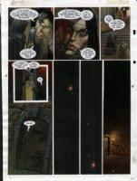 STAPLES, GREG - 2000AD #950 Slaine painted pg 25 Comic Art