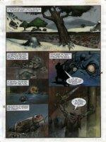 STAPLES, GREG - 2000AD #951 Slaine painted pg 25 Comic Art