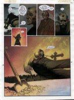 STAPLES, GREG - 2000AD #953 Slaine painted pg 25 Comic Art