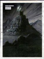 STAPLES, GREG - 2000AD #956 Slaine painted pg 26 Comic Art