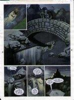 STAPLES, GREG - 2000AD #956 Slaine painted pg 25 Comic Art
