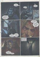 STAPLES- 2000 AD #955 pg 24 Comic Art