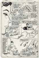 INFANTINO, CARMINE / BOB OKSNER - Supergirl #1 pg, Supergirl origin Comic Art