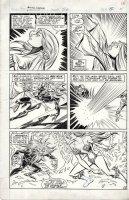 INFANTINO, CARMINE & BRET BLEVINS - Shanna She-devil #1 pg / M Fanfare #56 written by Steve Gerber Comic Art