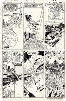 INFANTINO, CARMINE / BOB OKSNER - Supergirl #1 pg 21, Supergirl vs villainess Comic Art