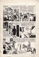 GIOLETTI, ALBERTO - Paladin #11 pg, Richard Boone as Paladin Comic Art
