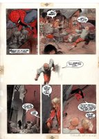 VESS, CHARLES - The Amazing Spiderman: Spirits of the Earth graphic novel painted pg 5 Comic Art