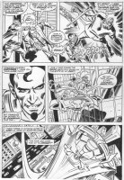 SIMONSON, WALT - Thor #267 pg 26, villain escapes from Don (Thor) Blake Comic Art