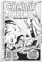 GIFFEN, KEITH - Ambush Bug - Kurtzman / EC cover parody 1986 Comic Art