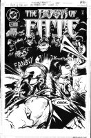 GIFFEN, KEITH - Book Of Fate #12 cover, with Lobo Comic Art
