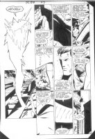 GIFFEN, KEITH - DC Presents #88 page 20 Superman and Creepr Comic Art