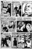 STARLIN, JIM - Captain Marvel #30 pg 7, Controller plots through Thanos, Rick Jones Comic Art