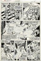 MOONEY, JIM - Ms Marvel #15 pg 15, Carol Danvers has Wundarr crash her new pad 1978 Comic Art