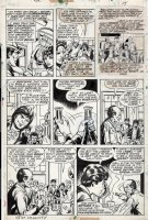 MOONEY, JIM - Omega The Unknown #4 pg 15, Omega & school 1976 Comic Art