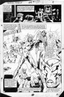 LaROCQUE, GREG - Marvel Team-Up #144 page 4,  Villain Comic Art