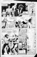 LAROCQUE, GREG - Marvel Team-Up #150 page 17, X-Men Comic Art