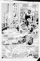 LAROCQUE, GREG - Marvel Team-Up #150 page 19,  Juggernaut & Black Tom Comic Art