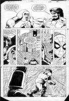 LAROCQUE, GREG - Marvel Team-Up #150 page 28, Spiderman, X-Men Comic Art