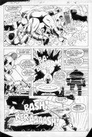LAROCQUE, GREG - Marvel Team-Up #150 page 6, Juggernaut Comic Art