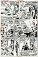 PLOOG, MIKE - Marvel Spotlight #6 pg 6, Ghost Rider, 2nd appearance Comic Art