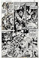 BRUNNER, FRANK - Giant-Size Manthing #4 pg, 1st Howard The Duck story, pre-Howard #1 1975 Comic Art