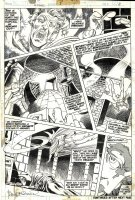 BRUNNER, FRANK - Doctor Strange #5 pg 11, Doc searches for & passes over his body Comic Art