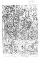 BRUNNER, FRANK - Marvel Premiere #12 pg 3, Doctor Strange pencil page Comic Art