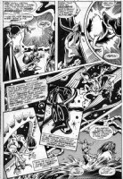 BRUNNER, FRANK - Howard The Duck #1 pg 14, Howard Barbarian & 1st Beverly - Brunner Collection Comic Art