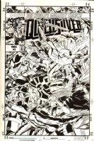 GOLDEN, MIKE P/I - Quicksilver #2 cover, X-Men villain & Avenger hero 1997 Comic Art