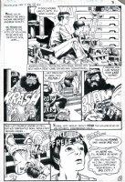 GOLDEN, MICHAEL P/I - Ghosts #88 pg 2 - biker gang Comic Art