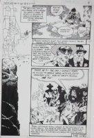 GOLDEN, MICHAEL P/I - Ghosts #88 pg 6 - biker gang Comic Art