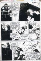 GOLDEN, MICHAEL P/I - Marvel Classics Comics #28 pg 47 Edgar Allan Poe story, buried alive Comic Art