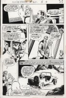 DeZUNIGA, TONY - Phantom Stranger #21 pg 2. Dr. 13 The Ghost-Breaker versus Medusa in:  Woman of Stone  Comic Art